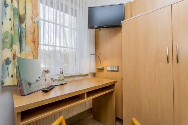 Einzelzimmer Ausstattung